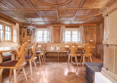 Ferienhaus Annas Muntafuner Hus Esszimmer
