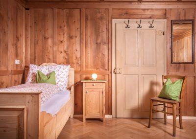Ferienhaus Annas Muntafuner Hus Schlafzimmer