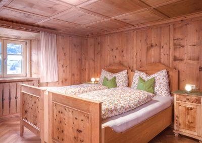 Ferienhaus Annas Muntafuner Hus Doppelzimmer