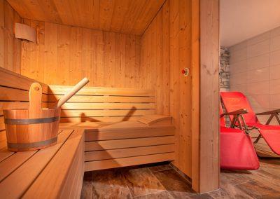 Ferienhaus Annas Muntafuner Hus Sauna